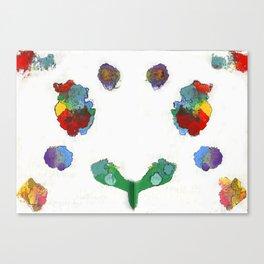 Beat Symmetry Canvas Print