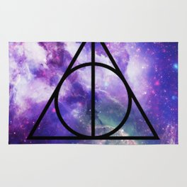 Deathly Hallows Galaxy Rug