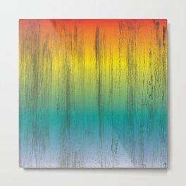 Rainbow Pattern Metal Print