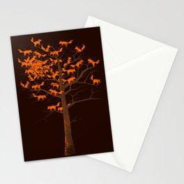 Blazing Fox Tree II Stationery Cards