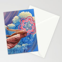 Circle women Stationery Cards