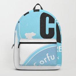 CFU Corfu airport Backpack