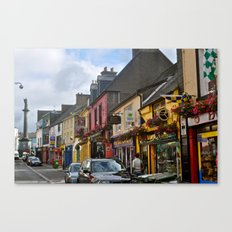 A Little Town in Ireland Canvas Print
