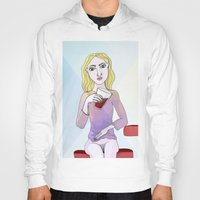 coca cola Hoodies featuring Coca Cola by The Bravo Sisters Art