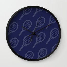 NAVY racquets Wall Clock