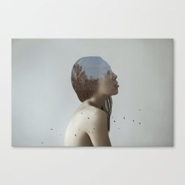 Being in nature Canvas Print