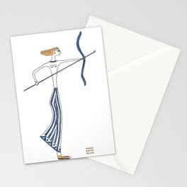 Artemis: Greek goddess of the hunt & protector of young girls Stationery Cards