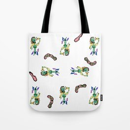 Zom-Britney All Over Tote Bag