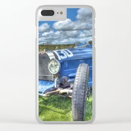 Grand Prix Vintage Sports car Clear iPhone Case