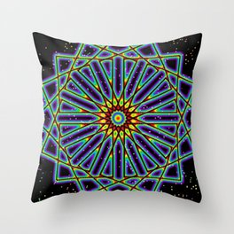 Square Space Throw Pillow
