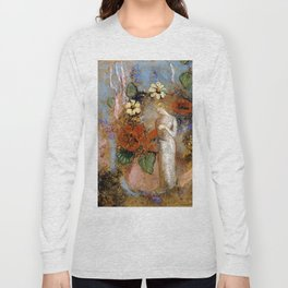 "Odilon Redon ""Pandora"" Long Sleeve T-shirt"