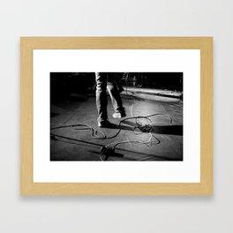 Szaja Happy Feet Framed Art Print