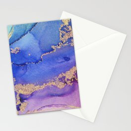 Dancing Mermaid - Abstract Ink - Part 2 Stationery Cards