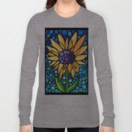Standing Tall - Sunflower Art By Sharon Cummings Long Sleeve T-shirt