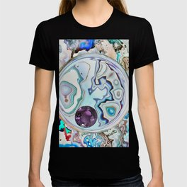 Amethyst in Mikro-Agate T-shirt