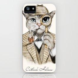 Catlock Holmes iPhone Case
