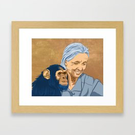 Dr. Jane Framed Art Print