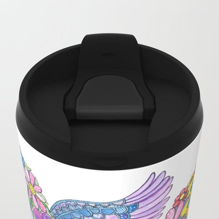 Madeline the Magic Unicorn Metal Travel Mug