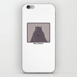 Professor Capybara III iPhone Skin