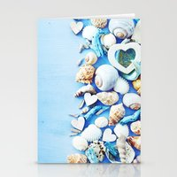 shells Stationery Cards featuring SHELLS by Ylenia Pizzetti