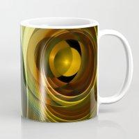infinity Mugs featuring Infinity by Klara Acel
