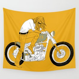 kick Wall Tapestry