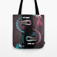twins Tote Bags featuring Twins by Mike Friedrich