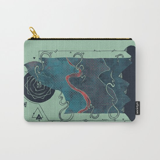 Northern Nightsky Carry-All Pouch