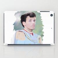 louis tomlinson iPad Cases featuring PRINCE LOUIS TOMLINSON by Flambino Gambino