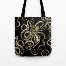 Octopsychedelia Sepia Tote Bag