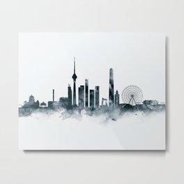 Beijing Skyline Metal Print