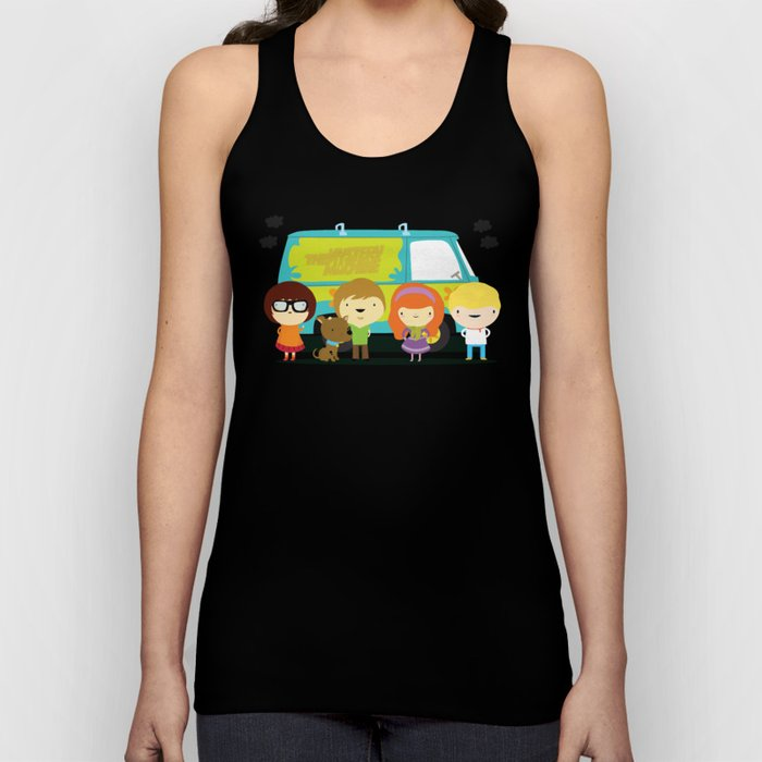 Little scooby characters Unisex Tank Top
