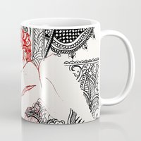 henna Mugs featuring Henna Lovers by N.I.S.