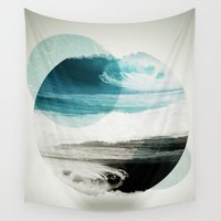 eye Wall Tapestries featuring Nalunani by .eg.