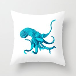 Origami Octopus Throw Pillow