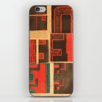 coffe iPhone & iPod Skins featuring Coffe - Vintage Drink by Fernando Vieira