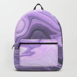 Marble light purple Backpack