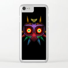 Majora's Mask Clear iPhone Case