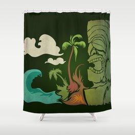 Surf Ku Shower Curtain