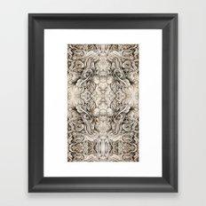Cruciform Framed Art Print