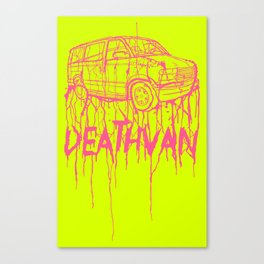 DEATHVAN Canvas Print