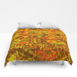 Winter Wildflowers Comforters