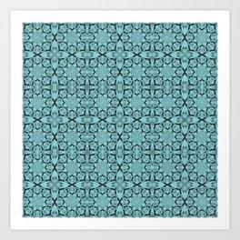 Island Paradise Geometric Art Print