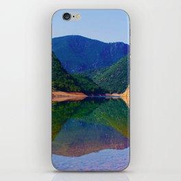 beautiful lake iPhone Skin
