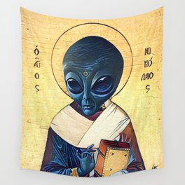 St. Alien Wall Tapestry