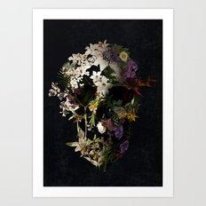 Spring Skull 2 Art Print