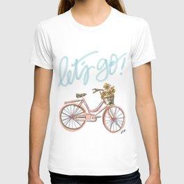 Let's Go! (vintage bike) T-shirt