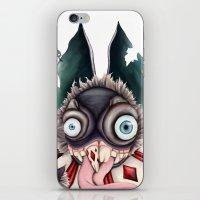 bucky iPhone & iPod Skins featuring Bucky by Maria Gabriela Arevalo Reggeti