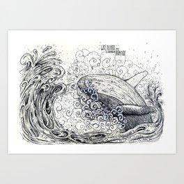 WREAAAH Art Print
