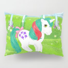 g1 my little pony stylized Fizzy, Gusty and Magic Star Pillow Sham